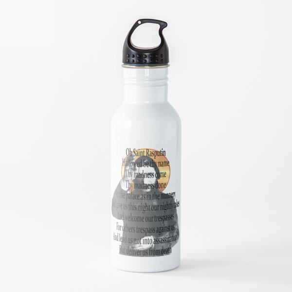 Oración de Rasputin Botella de agua