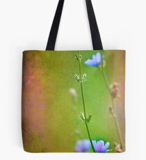 When all of a sudden I notice that I'm no longer alone. Tote Bag