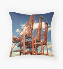 Long Beach, CA Throw Pillow