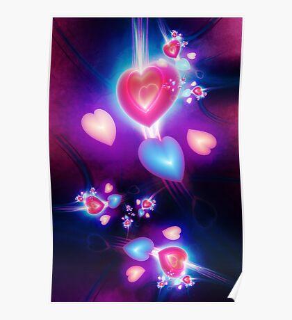 Fractal Love Poster