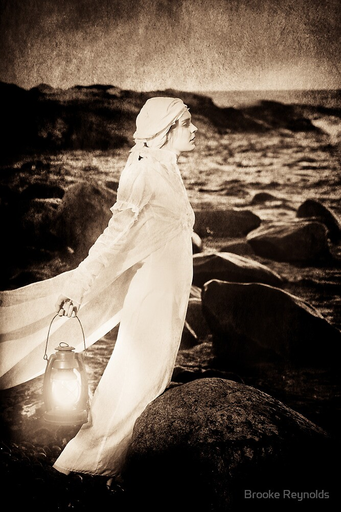 { cast me to sea } by Brooke Reynolds