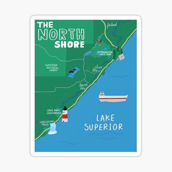 The North Shore Sticker