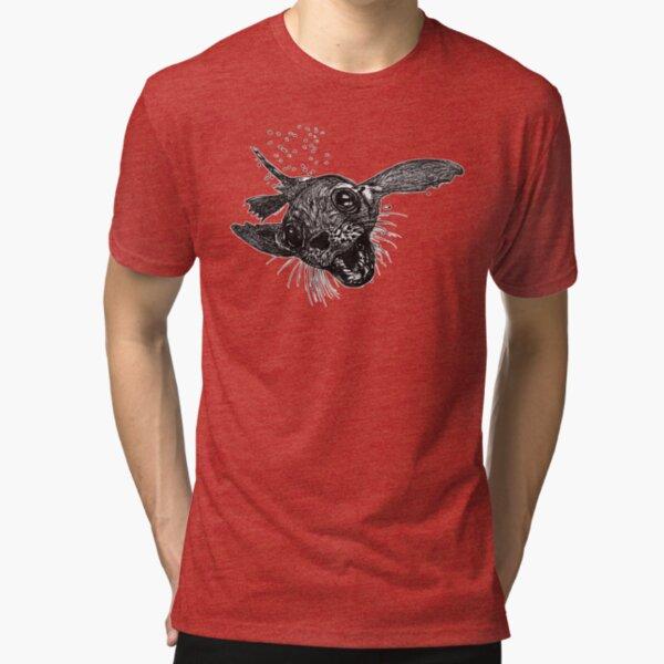 Dom the Australian Fur Seal  Tri-blend T-Shirt