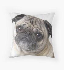 Pug Throw Pillow