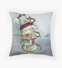 Leaning Tower  Throw Pillow