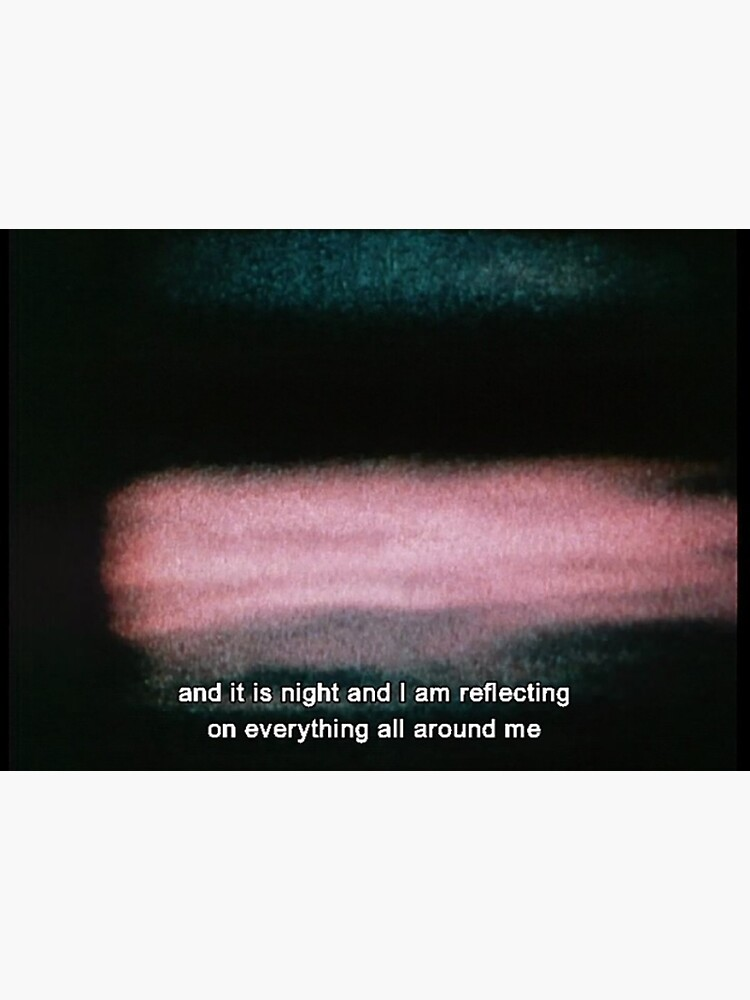 Jonas Mekas As I Was Moving Ahead Occasionally I Saw Brief Glimpses Of Beauty And It Is Night Art Board Print By Cinematiquelife Redbubble