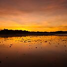 Smoky Sunset, Rowes Bay by Dieter Tracey
