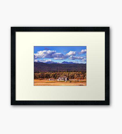 Snoqualmie Pass Framed Print