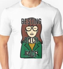 Daria's Resting Bitch Face Unisex T-Shirt