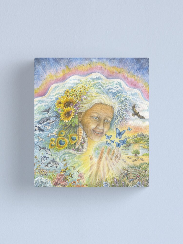 Alternate view of The Great Mother Canvas Print
