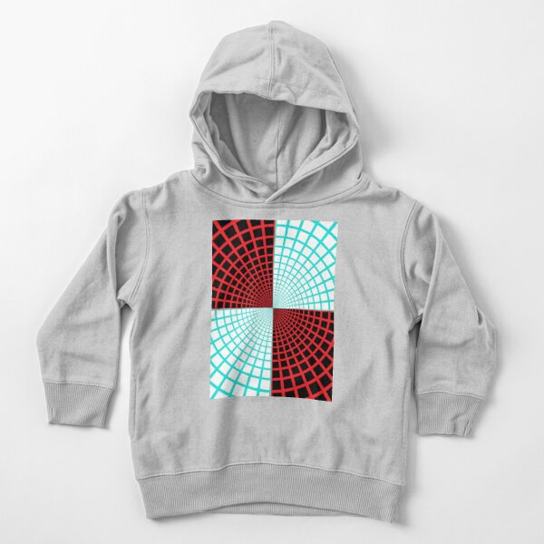 Blue/Red Circles and Rays on White and Dark Backgrounds - Tate Gallery, Britain Toddler Pullover Hoodie