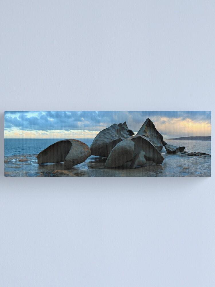 Alternate view of Remarkable Rocks Dawn, Kangaroo Island, South Australia Canvas Print