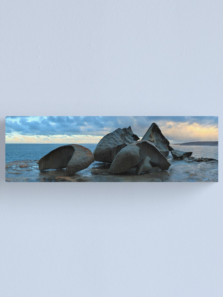 Alternate view of Remarkable Rocks Dawn, Kangaroo Island, South Australia Canvas Print