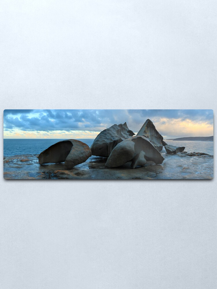 Alternate view of Remarkable Rocks Dawn, Kangaroo Island, South Australia Metal Print