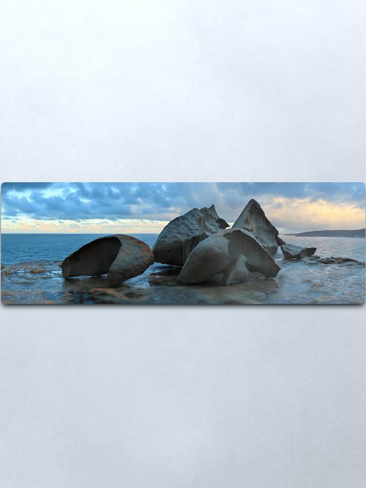 Alternate view of Remarkable Rocks Dawn, Kangaroo Island, South Australia Metal Print