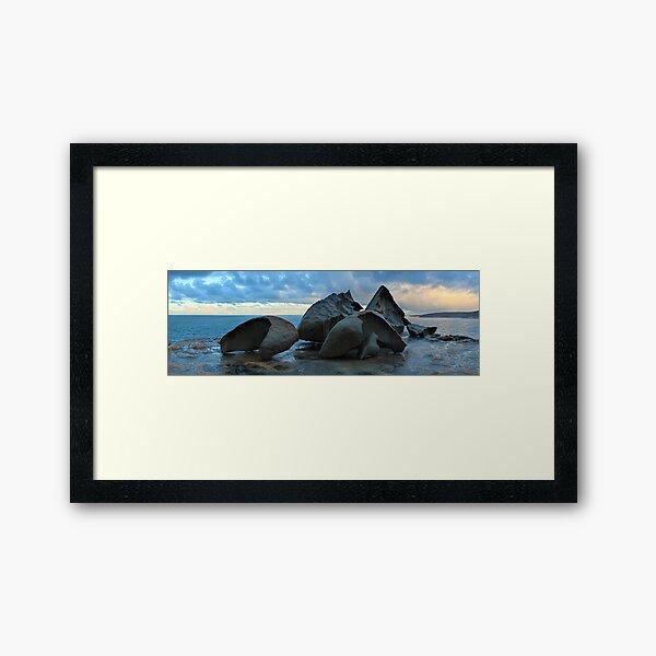 Remarkable Rocks Dawn, Kangaroo Island, South Australia Framed Art Print