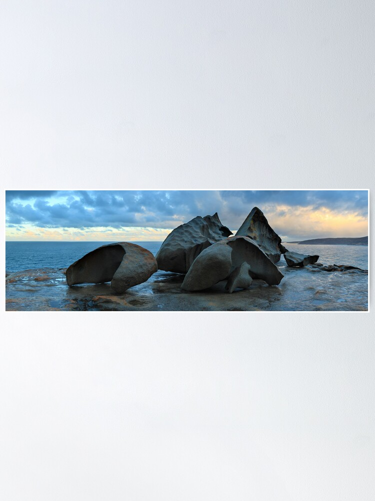 Alternate view of Remarkable Rocks Dawn, Kangaroo Island, South Australia Poster