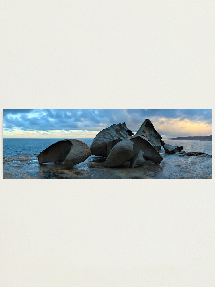 Alternate view of Remarkable Rocks Dawn, Kangaroo Island, South Australia Photographic Print