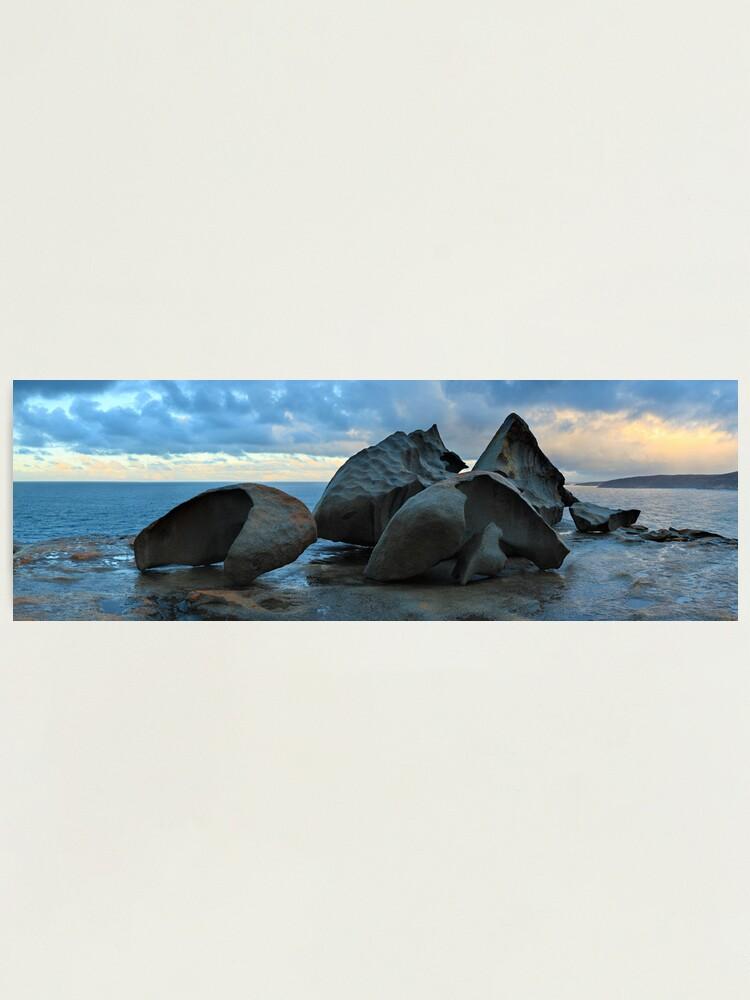 Alternate view of Remarkable Rocks Dawn, Kangaroo Island, South Australia Photographic Print