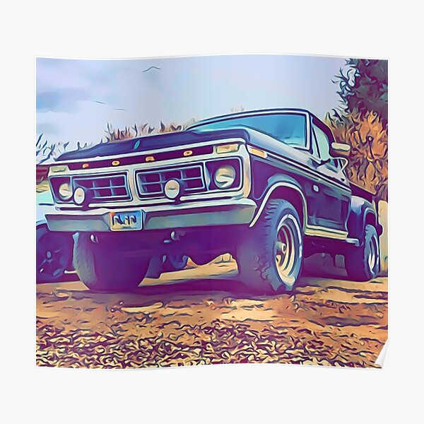 1977 Ford F150 Poster