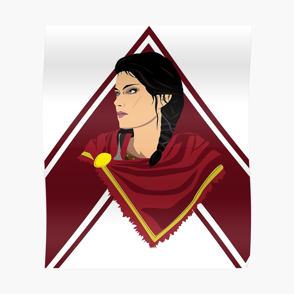 Kassandra Assassin S Creed Odyssey Sticker By Antheda Redbubble