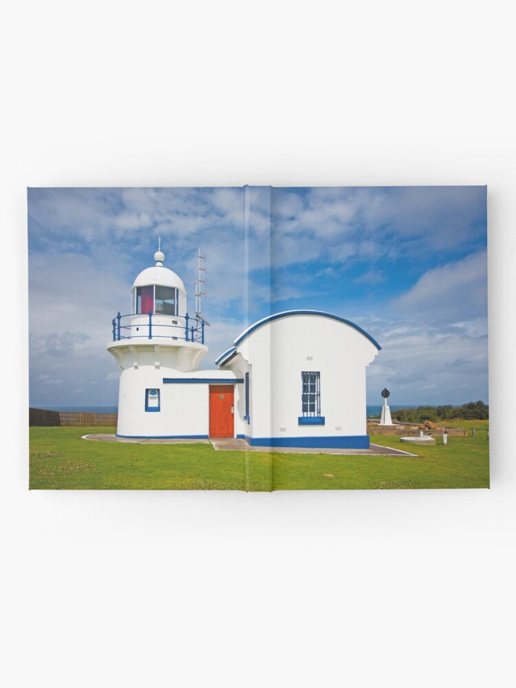 Alternate view of Crowdy Head Lighthouse, NSW Hardcover Journal