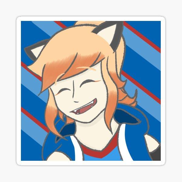 Daina doin a smile! Sticker