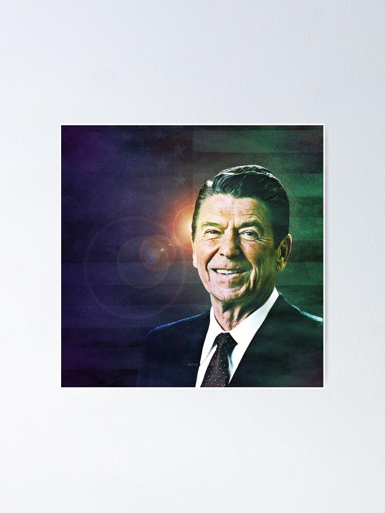 Alternate view of Patriot Ronald Reagan Poster