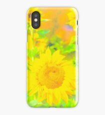 Rigby Idaho  Sunflower Feelings iPhone Case