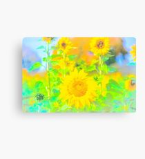Rigby Idaho  Sunflower Feelings Canvas Print