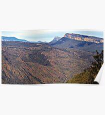 Granite Gorge-Halls Gap Poster