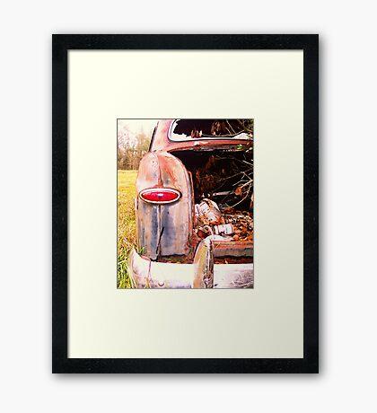 Drank & Drove Framed Print