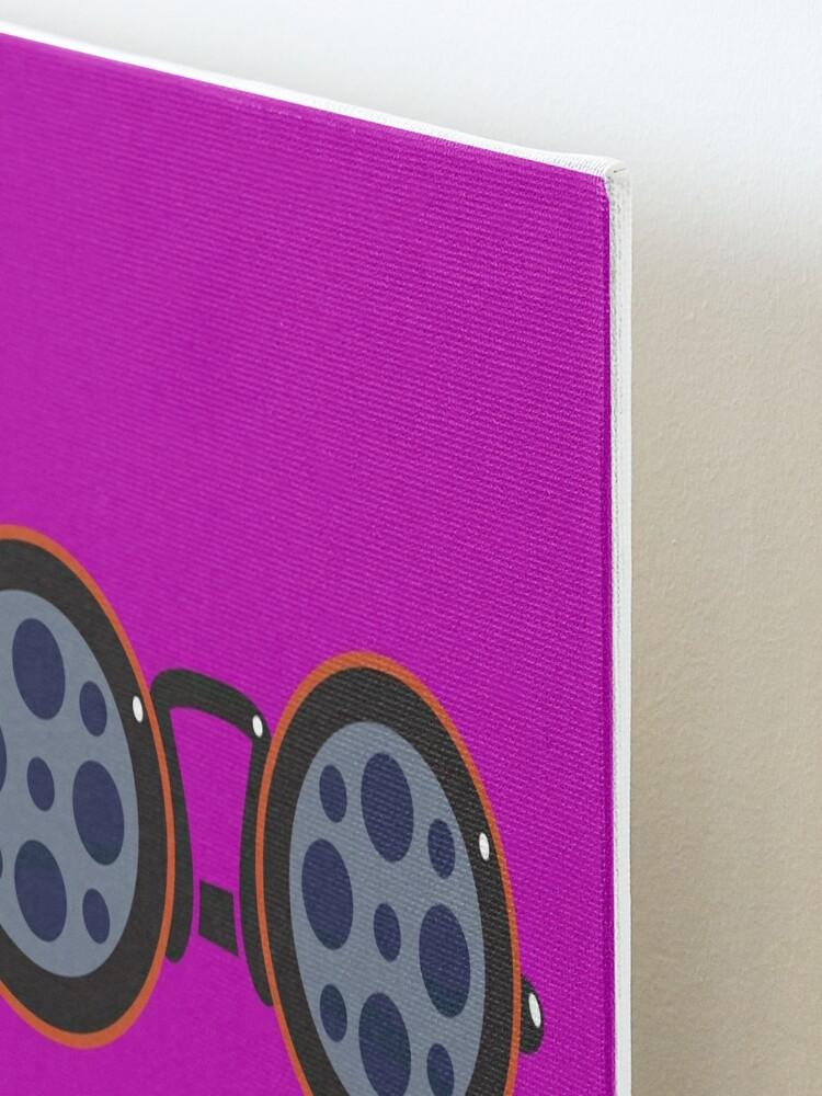 Alternate view of Film Reel Glasses Mounted Print