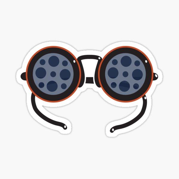 Film Reel Glasses Sticker