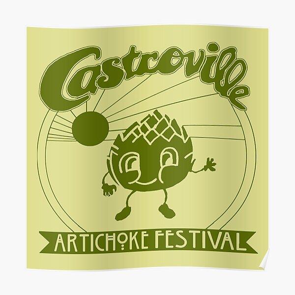 Castroville Artichoke Festival Poster