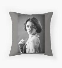 Maisie Williams Throw Pillow