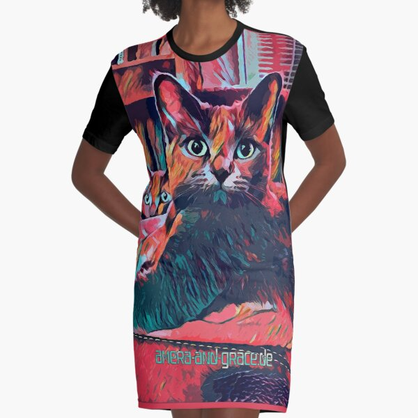 CATS AMERA AND GRACE - 1 T-Shirt Kleid