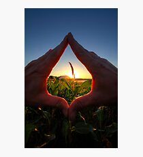 Handy Sunset Photographic Print