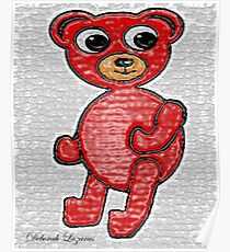 Cherry Beary Poster