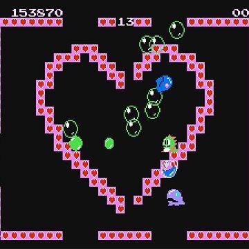 Bubble Bobble level by bibyu