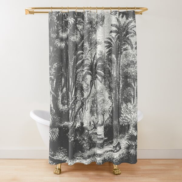 Indian Jungle Shower Curtain