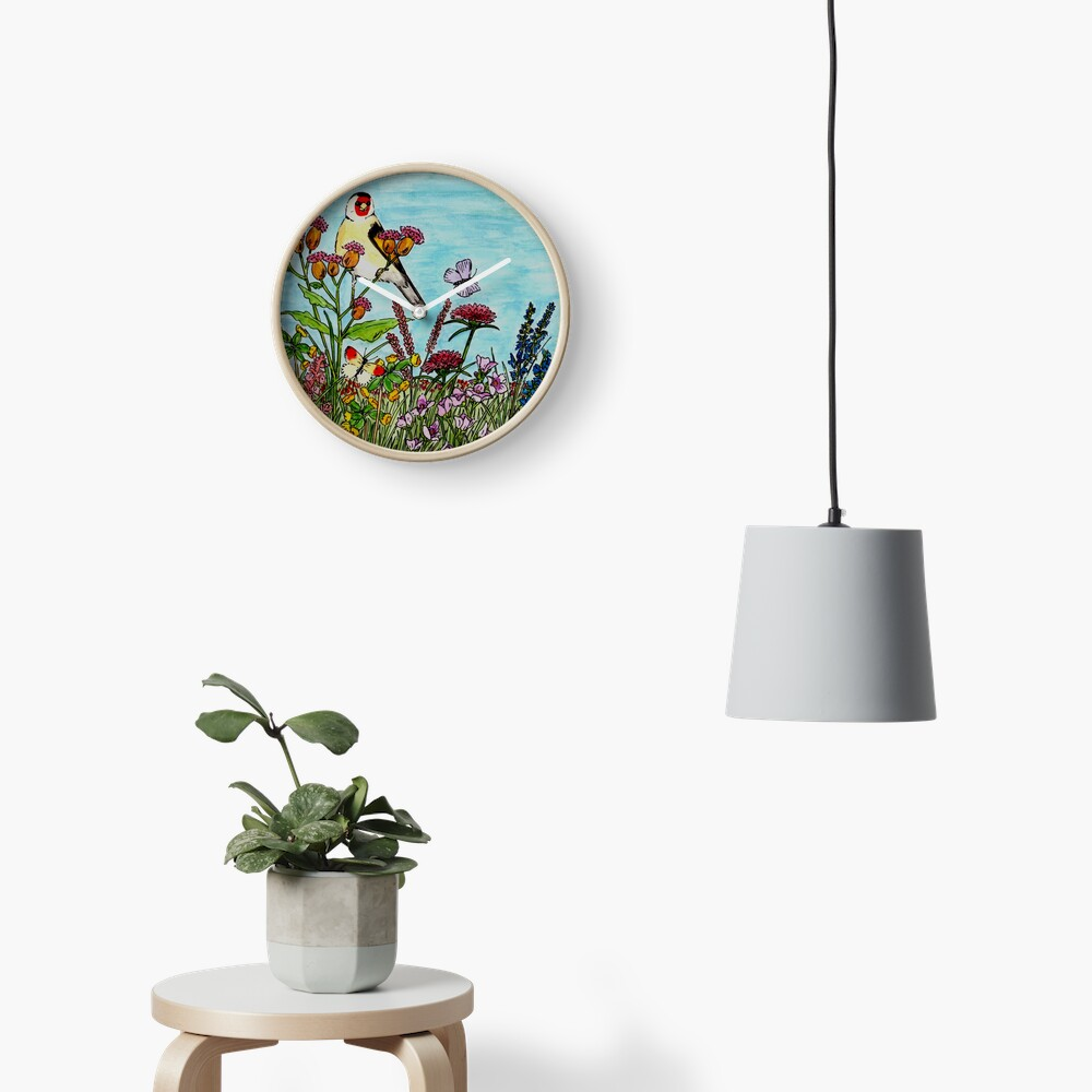 Flower Meadow - Clock Clock