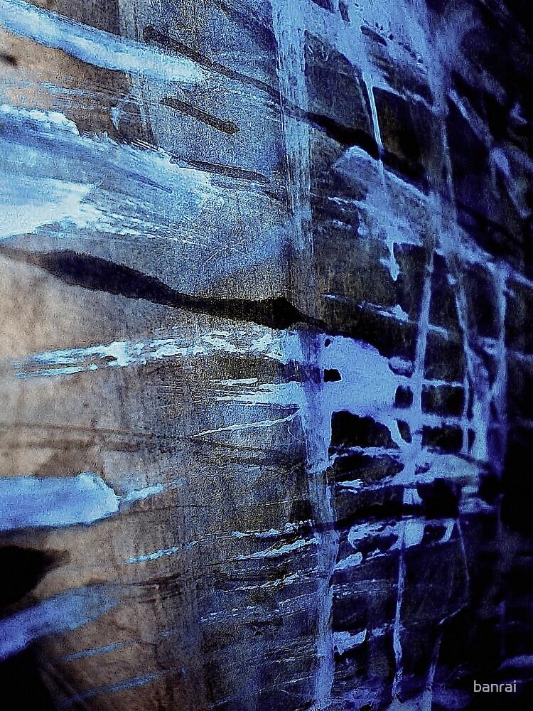 dreaming deep water.... blue ice wall by banrai