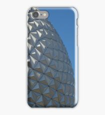 Epcot's Spaceship Earth & Palm Tree iPhone Case/Skin