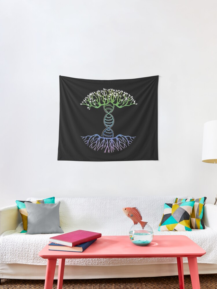 DNA Tree Tapestry