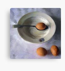 The Dish Ran Away With The Egg and Spoon Canvas Print