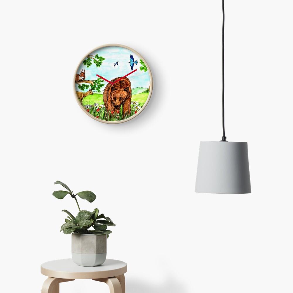 Friendly Bear - Clock Clock