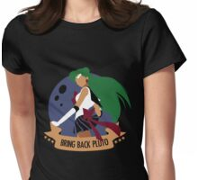 Bring Back Pluto Womens Fitted T-Shirt