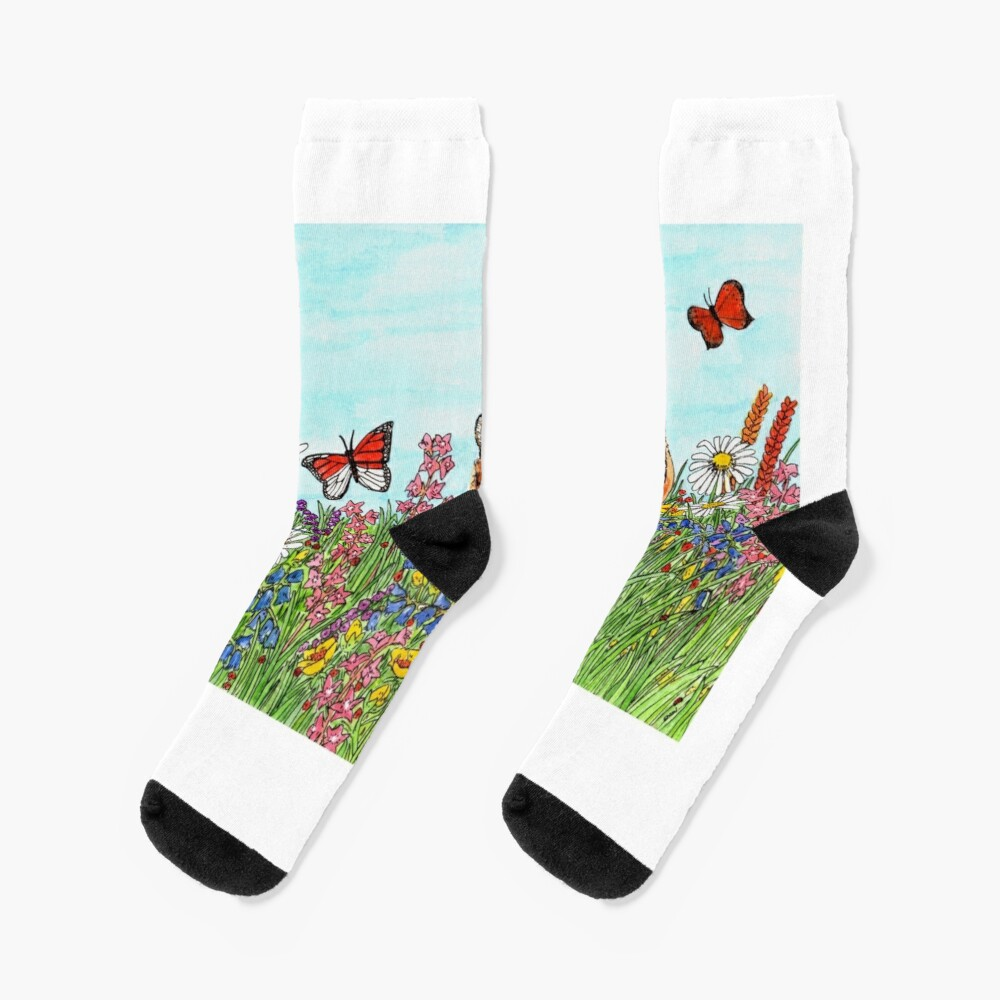 Tiger in a Perfect World - Scarf and Clothing Socks