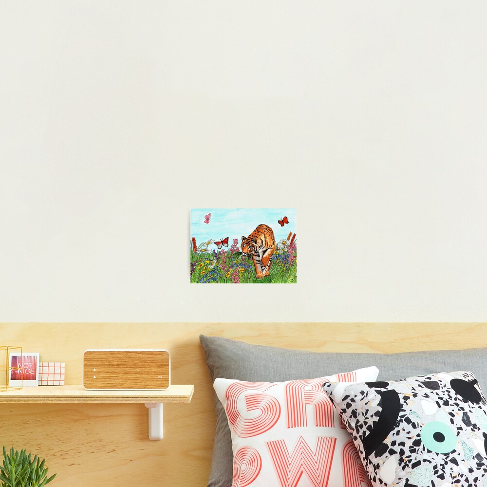 Tiger in a Perfect World - Wall Art Photographic Print